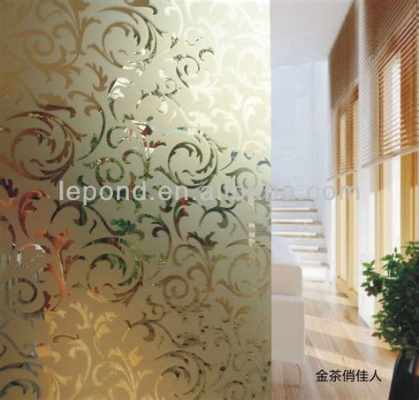 Decorative Glass Partitions Home by Decorative Glass Wall Panel Office Glass Partitions Buy