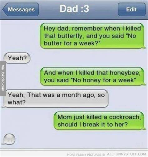 Texting Meme - funny text messages to dad jokes