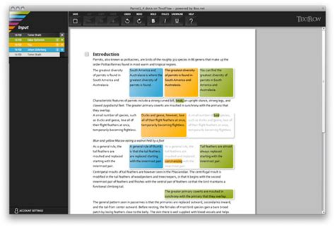 testo grazie box revisione dinamica di testi grazie a textflow web