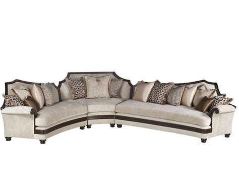 3pc sectional sofa benetti s italia visconte 3pc sectional sofa btvi155