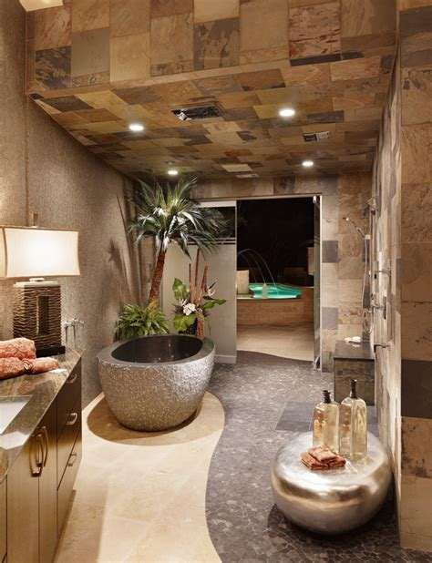 spa bathroom ideas natural touch master bath decozilla