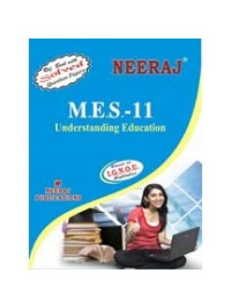 Ignou Mba Guide Books by Mes 011 Understanding Education Ignou Guide Book For