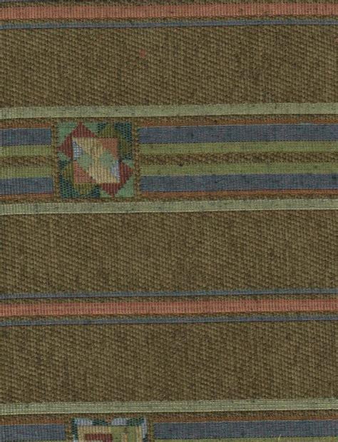 western fabrics upholstery olive green blue western stripe upholstery fabric