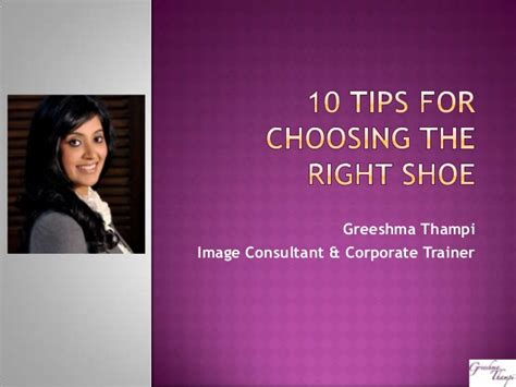 10 Tips For Choosing The Right Personal Trainer by 10 Tips For Choosing The Right Shoe