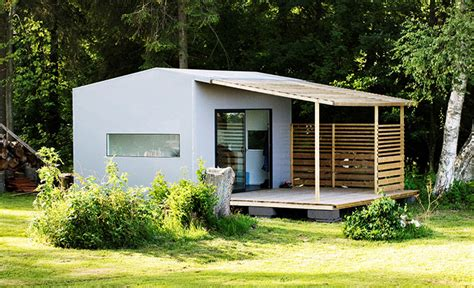 sweden s mini house 2 0 is a modular house that you can