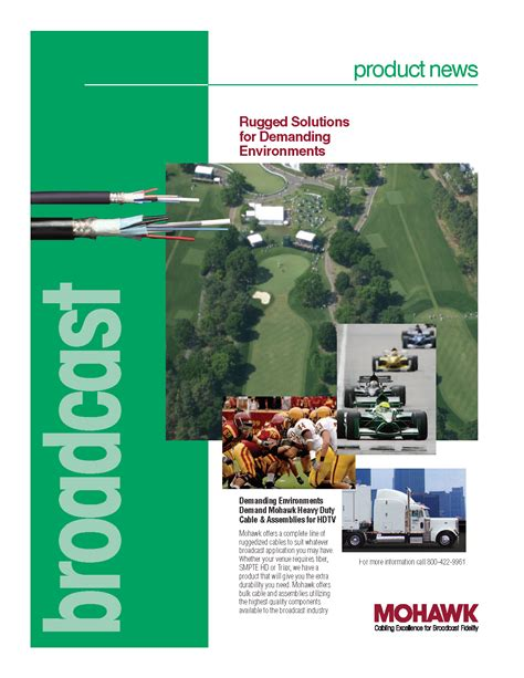 rugged solutions cable literature by mohawk