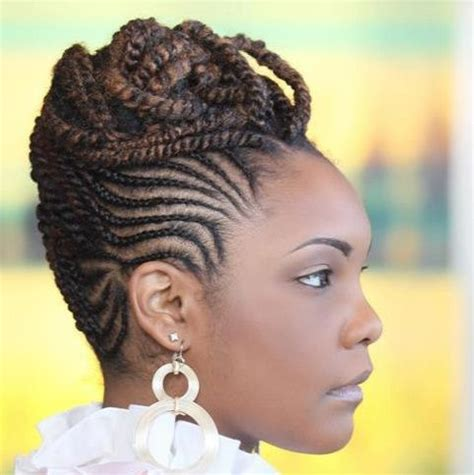 spectacular braided updo black hair information