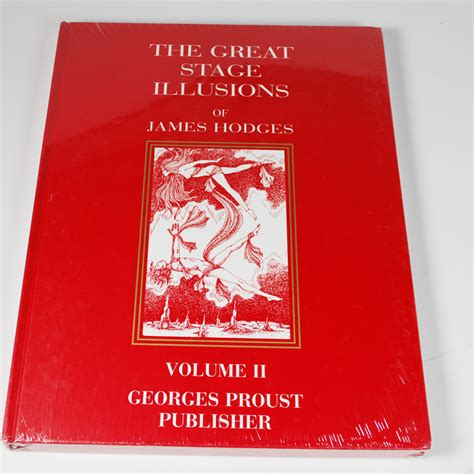 food illusions vol 1 books the great stage illusions of hodges volume 1 and 2