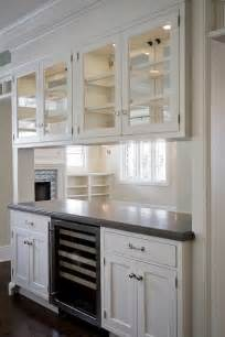 Kitchen Cabinets With Glass Doors On Both Sides See Through Bookcase Design Decor Photos Pictures
