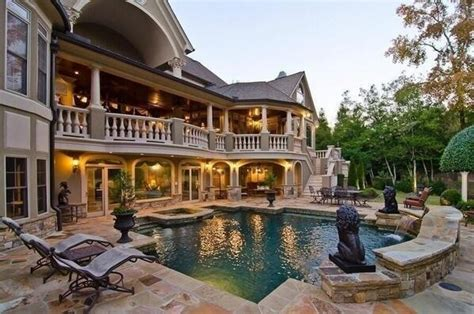 big nice houses nice big house and pool home pinterest