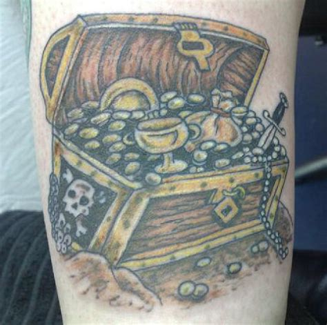 treasure chest tattoo imagevue gallery treasure chest jpg
