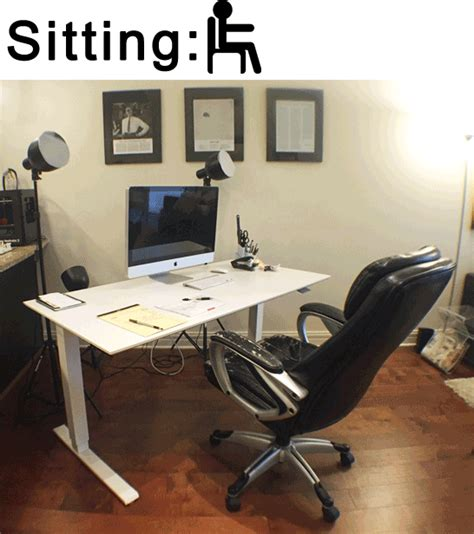 sitting and standing desk how to work from home successfully