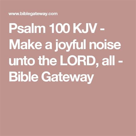 a joyful noise praying the psalms with the early church books 1000 ideas about psalm 100 kjv on psalm 34