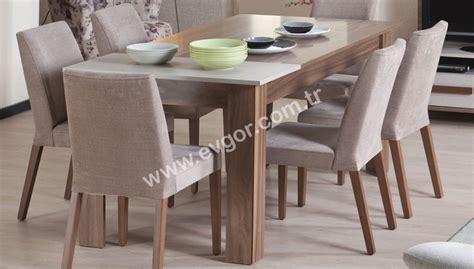 yemek masasi evg 214 r mobilya revere yemek masası takımı