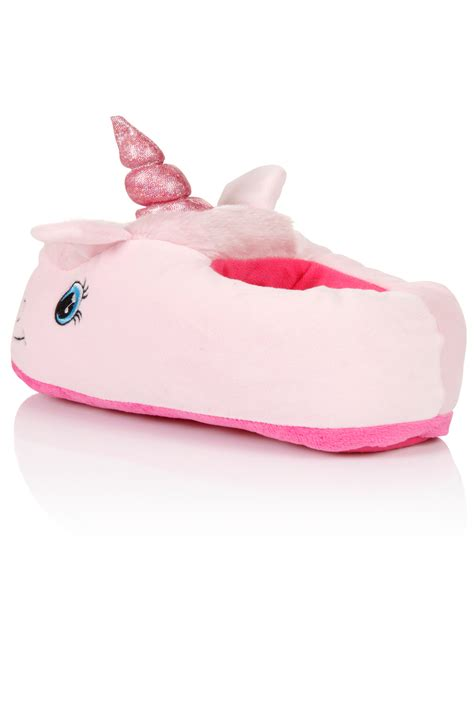 unicorn slippers uk womens unicorn slippers comfy fluffy