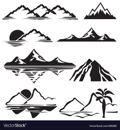 mountain clipart mountains royalty free vector image vectorstock