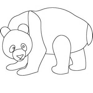 Panda Outline Drawing by Panda Standing The Tree Coloring Page Coloring Sun