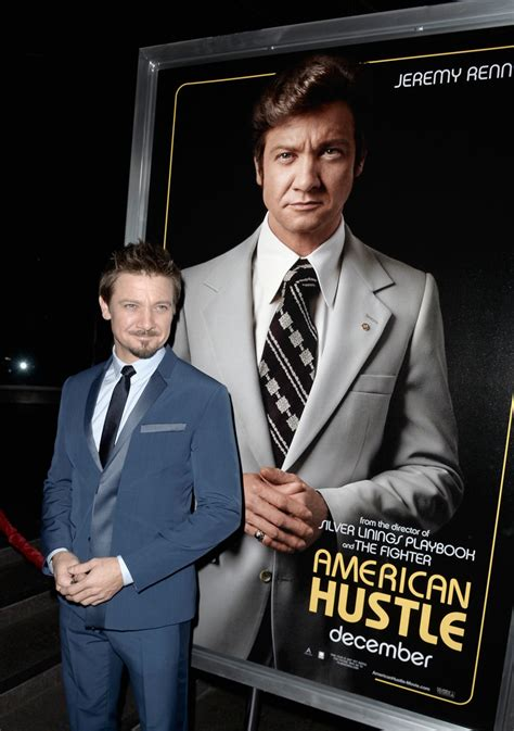 jeremy renner datalounge part iii jeremy renner photos photos american hustle screening