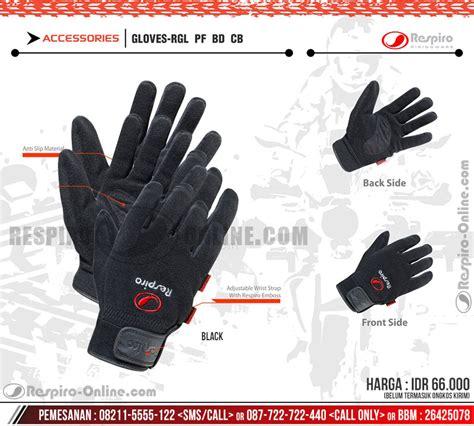 Respiro Glove Rgl 204 Black sarung tangan respiro motor kulit glove