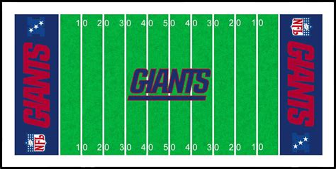 Printable Football Field Clipart Best Football Field Printable