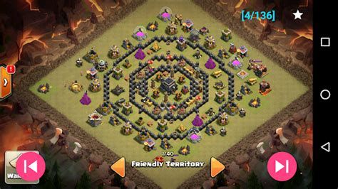 coc layout simulator war layouts for clash of clans android apps on google play