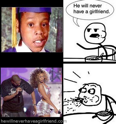 Jay Z Lips Meme - 187 rapper he will never have a girlfriend