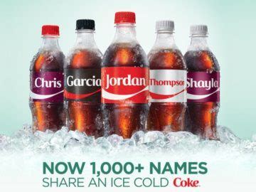 Coke Instant Win - sodexo share a coke sweepstakes and instant win game