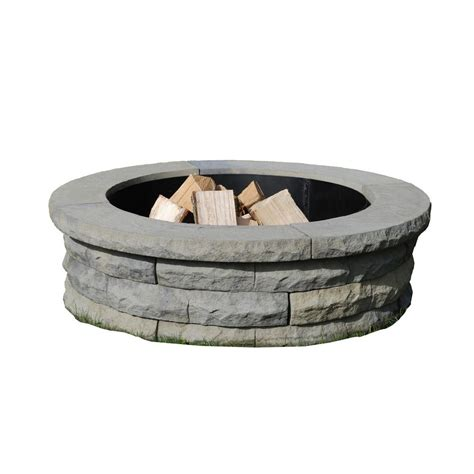 Firepit Ring Cobraco Steel Pit Ring Frhors369 The Home Depot