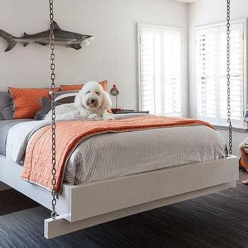hanging bed frame bed hanging from chains www pixshark com images