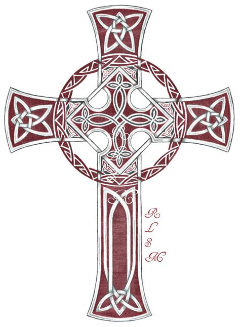 cross tattoo flash celtic cross scotland the brave