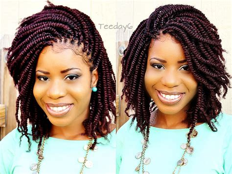 crochet braids twists crochet braids with purple hair short hairstyle 2013