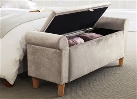 bedroom footstools palais ottoman sumptuous velour light stone from next beautiful bedroom inspiration