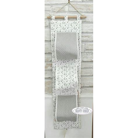 accessori bagno country chic porta carta igienica tessuto cuori provenzale accessori