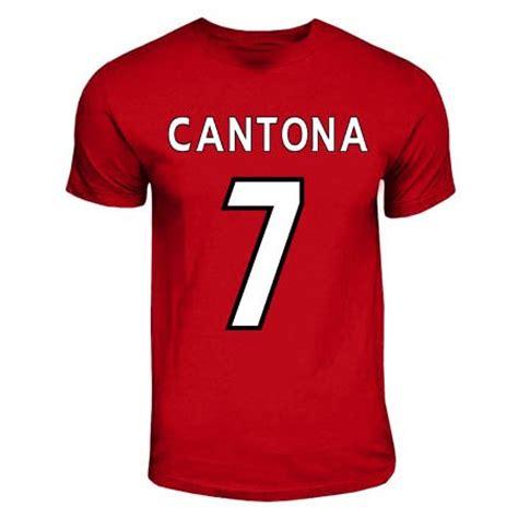 Aaf Cantona 1 T Shirt eric cantona t shirt abbigliamento sportivo panorama auto