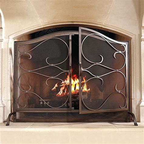Arched Fireplace Screens by Douglas Arched Fireplace Screen Traditional Screens