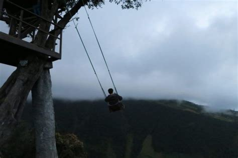 swing at the end of the world in banos ecuador 10 adventures you can t miss while travelling in ecuador