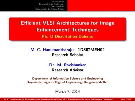 dissertation defense slides ph d dissertation defense slides on efficient vlsi