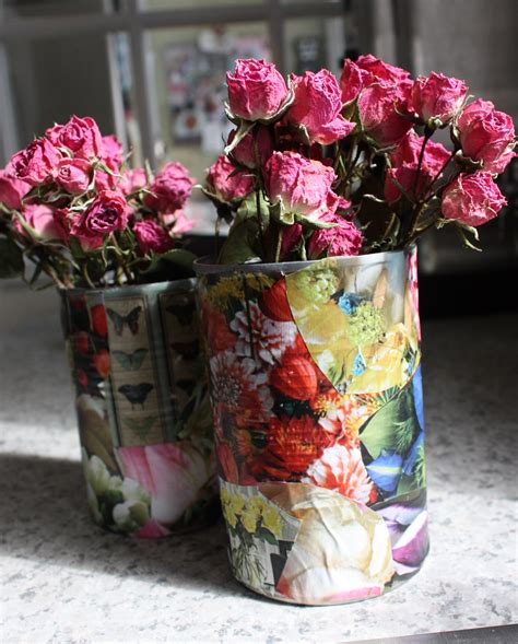Tin Can Vase by Tin Can Vase Craftbnb