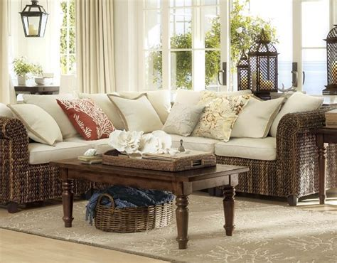pottery barn seagrass sectional 57 best images about formal living room on pinterest