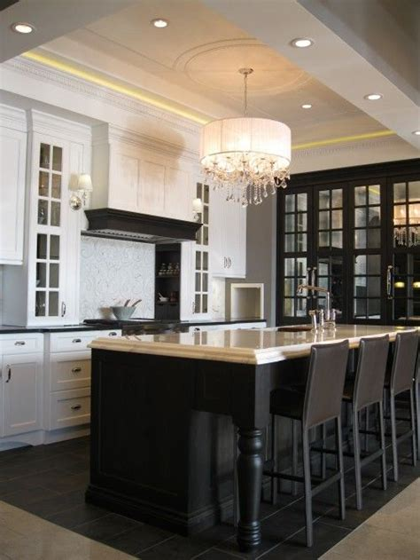 tray ceiling kitchen kitchens tray ceiling black mirrored cabinet black