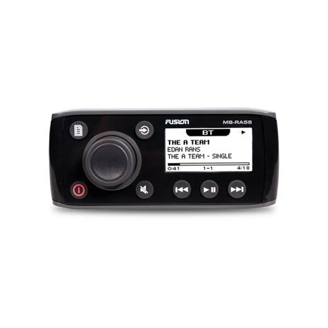 boat stereo bluetooth fusion marine boat stereo ms ra55 with bluetooth 12 volt