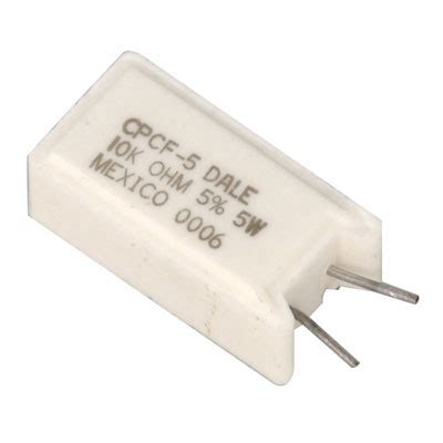 Resistor 5 Watt All Variant cpcf 5 vishay 5 watt 10k ohm metal wirewound resistor passive components