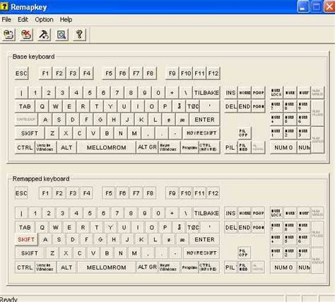 keyboard layout remap remap keyboard