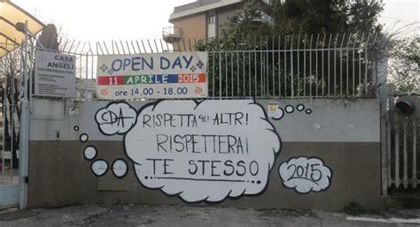 casa degli angeli lecco lecco contro i vandalismi un murales alla casa degli