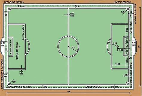 dimensioni porta di calcio misure co di calcio