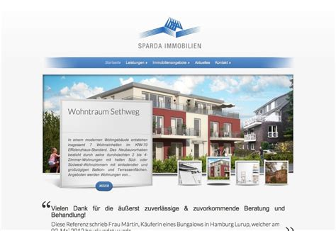 sparda bank immobilien hamburg referenz 183 website der sparda immobilien
