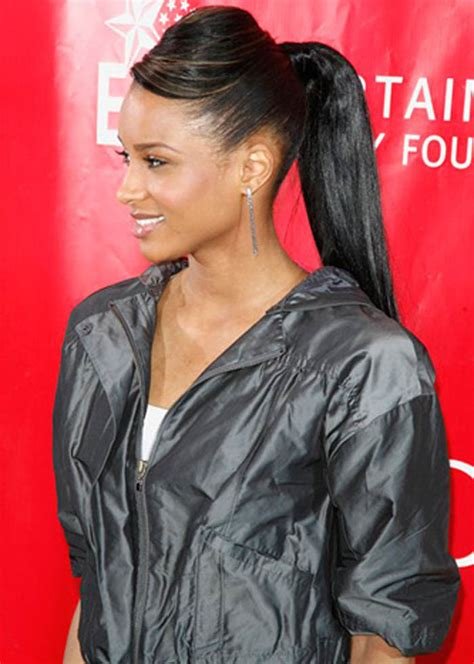 Weave Ponytail Hairstyles by Ponytail Hairstyles Beautiful Hairstyles