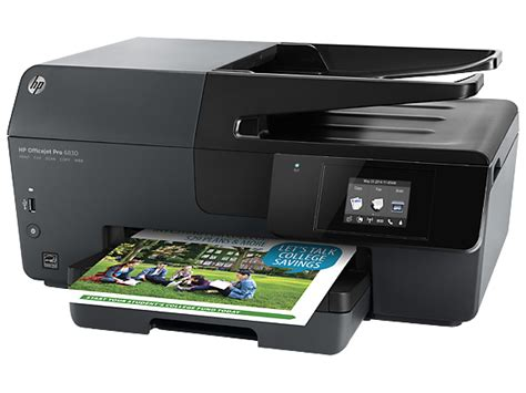 Printer Hp Officejet All In One hp officejet pro 6830 e all in one printer hp 174 official