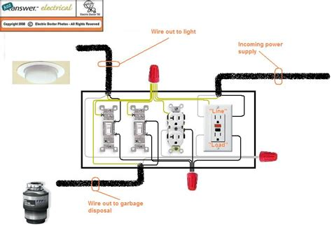 need wiring diagram for kitchen installation middle run
