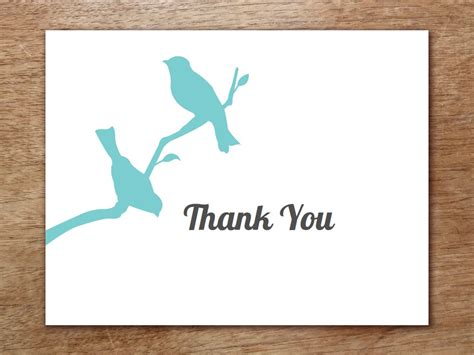Thank You Card Template Word by 6 Thank You Card Templates Word Excel Pdf Templates